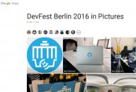 GDG DevFest Berlin 2016