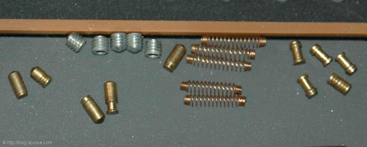 ABUS C83 PINS/STIFTE